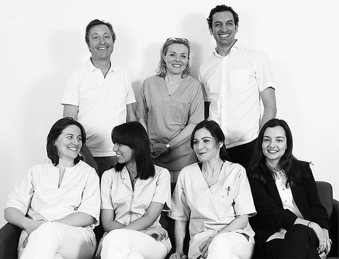 Equipe du cabinet dentaire